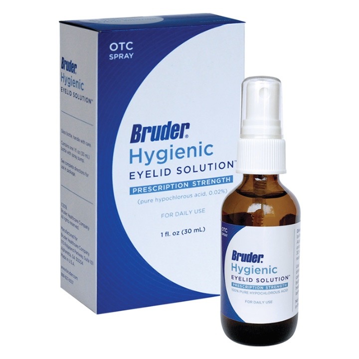 Bruder Hygienic Eyelid Solutions  - ON SALE!