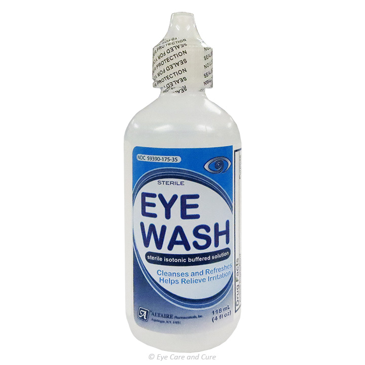 Eye Wash, 4 fl. oz. (120 ml) solution