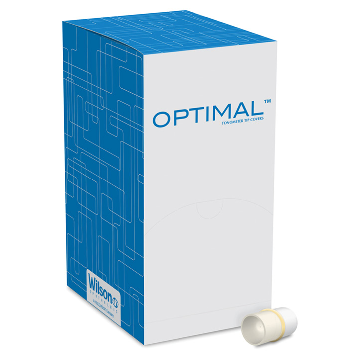Optimal Tonopen Tip Covers, sanitized, sleeved, 200/box