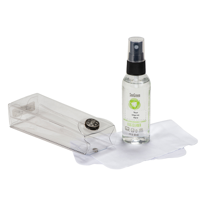 SeeGreen® Classic Lens Care Kits, stock label