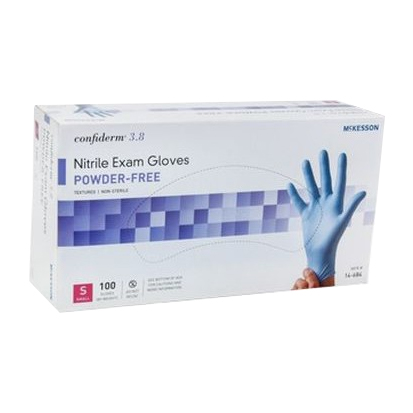 McKesson Nitrile Exam Gloves, non-sterile, latex-free, powder-free