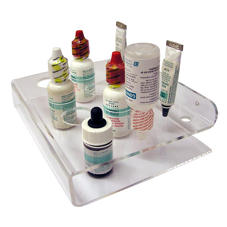Exam Room Bottle Organizer, acrylic