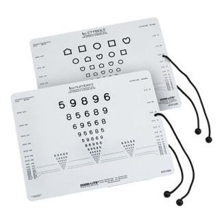 LEA Symbols® and LEA Numbers® Near Vision Card