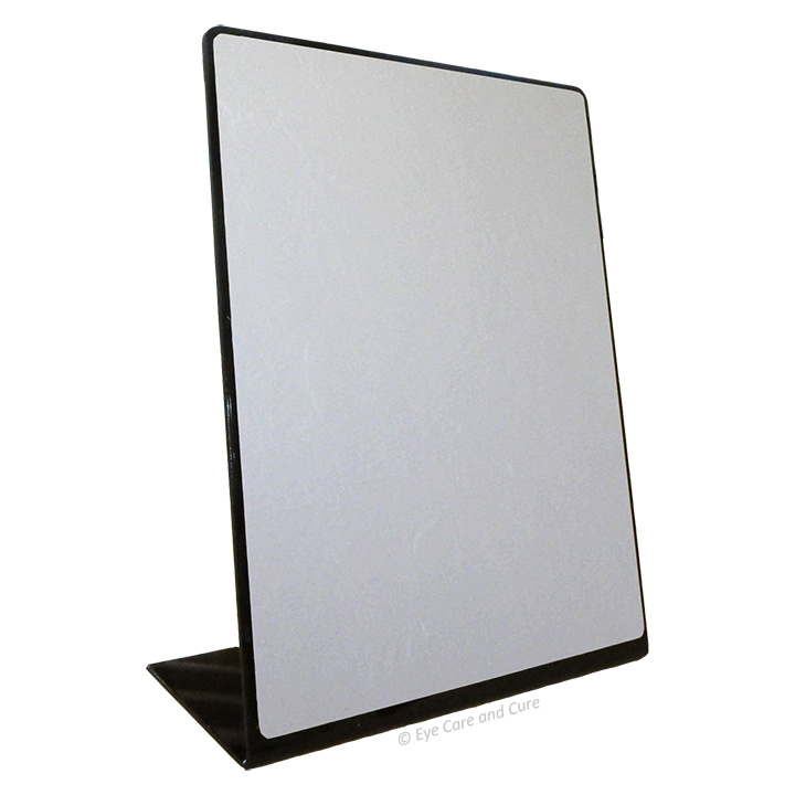 Slant Back Mirror, rectangle