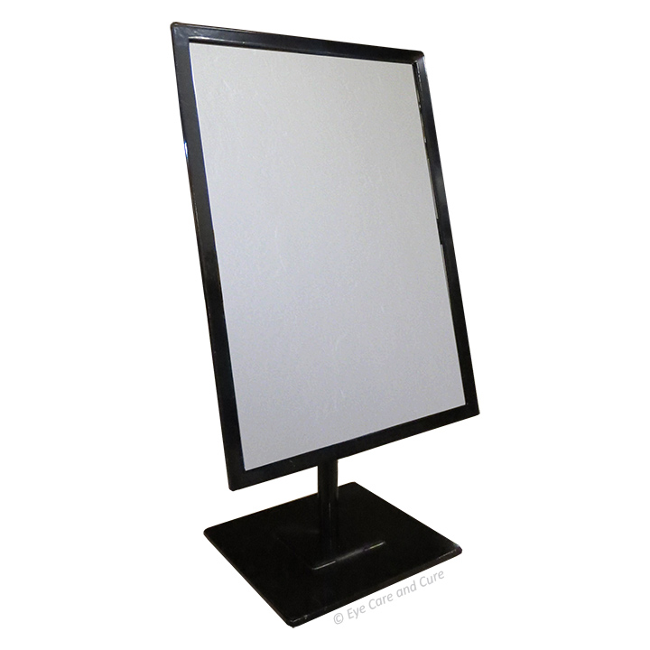 Rectangular Mirror, Black