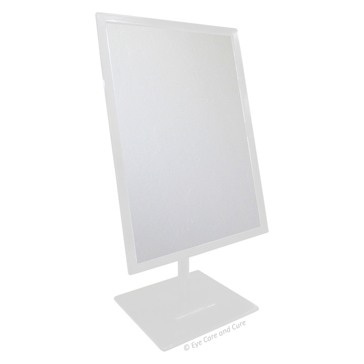 Rectangular Mirror, White