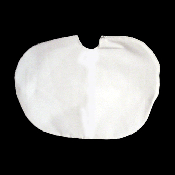 Dust Cover for Phoropters, White Cloth