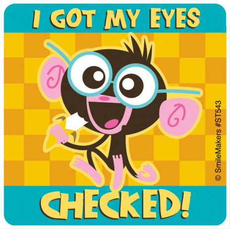 Eye Care Stickers,