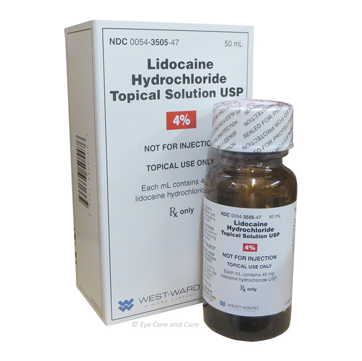 Lidocaine HCl 4.0% Topical Solution - ON SALE!