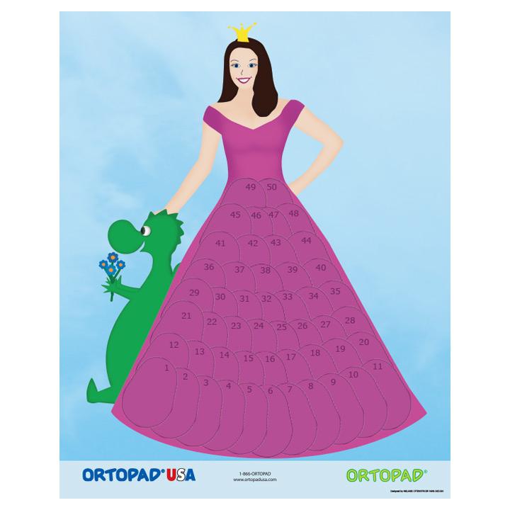 ortopad patching reward poster princess