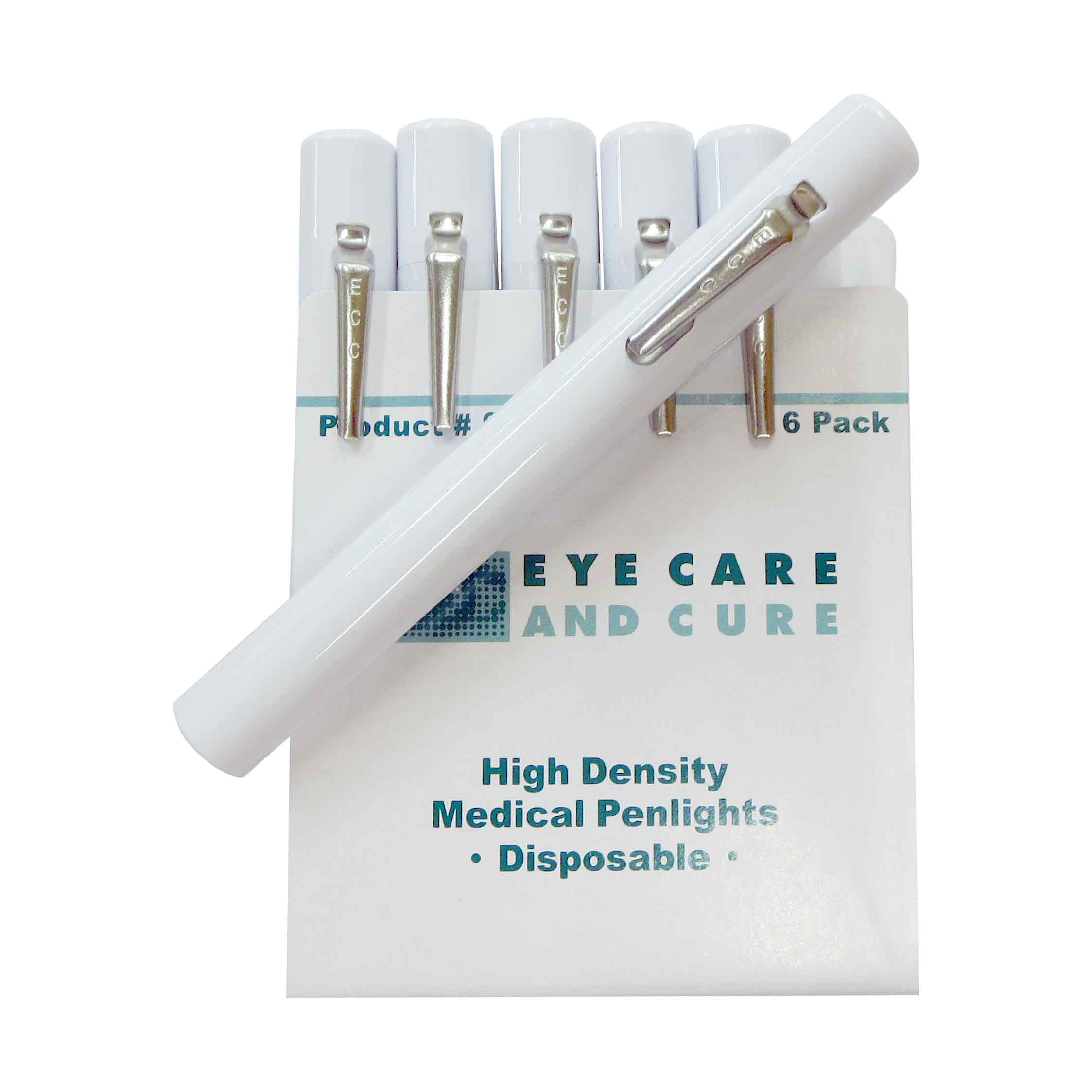 Eye Care and Cure Penlights, 6/pkg