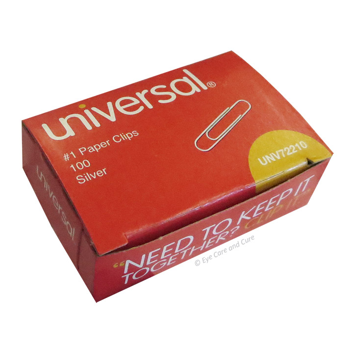 Universal® Paper Clips, 1,000/pk