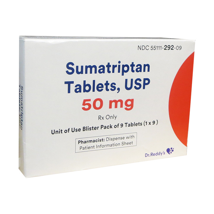 Sumatriptan tablet 50mg